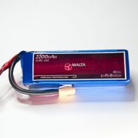 MaltaRotors 14.8v 2200mah 45c LiPo Battery