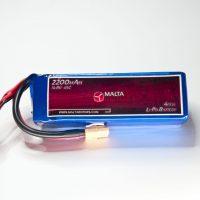 MaltaRotors 14.8v 2200mah 45c LiPo Battery