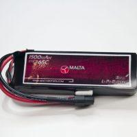 MaltaRotors 11.1v 1500mah 65c LiPo Battery