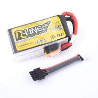 Tattu R-Line 1550mAh 95C 4S1P lipo battery pack (Detachable Balance Cable)