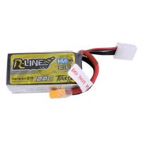 Tattu R-Line 1300mAh 100C 4S1P 15.2V High Voltage Lipo Battery Pack-Version 2.0