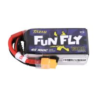 Tattu Funfly Series 1300mAh 14.8V 100C 4S1P Lipo Battery