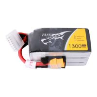 Tattu 1300mAh 22.2V 75C 6S1P Lipo Battery