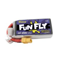 Tattu Funfly Series 1300mAh 11.1V 100C 3S1P Lipo Battery