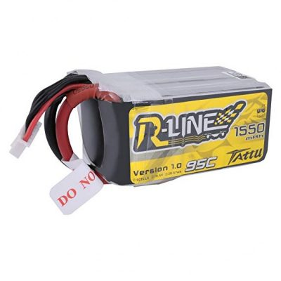 Tattu R-Line 1550mAh 95C 5S1P lipo battery