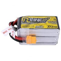 Tattu R-Line 1550mAh 95C 5S1P lipo battery
