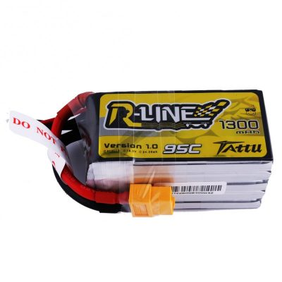Tattu R-Line 1300mAh 95C 5S1P lipo battery