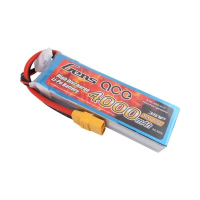 Gens Ace 4000mAh 11.1V 25C 3S1P Lipo Battery