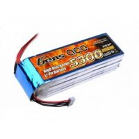 Gens Ace 5300mAh 11.1V 30C 3S1P Lipo Battery