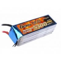 Gens Ace 5300mAh 14.8V 30C 4S1P Lipo Battery