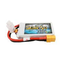 Gens Ace Soaring 1300mAh 7.4V 30C 2S1P Lipo Battery