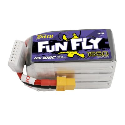 Tattu Funfly 1550mAh 22.2V 100C 6S1P Lipo Battery