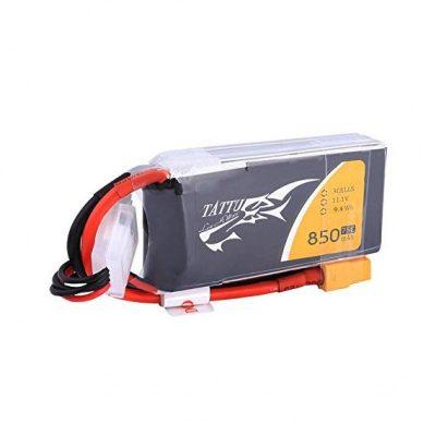 Tattu 850mAh 11.1V 75C 3S1P Lipo Battery
