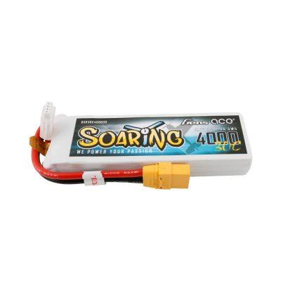 Gens ace Soaring 4000mAh 11.1V 30C 3S1P Lipo Battery